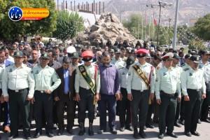 تشییع سرگرد شهید عبدالخالق فرزادیان در یاسوج (۵۰)