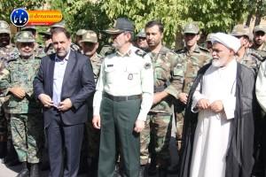 تشییع سرگرد شهید عبدالخالق فرزادیان در یاسوج (۶)