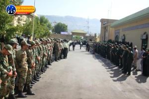 تشییع سرگرد شهید عبدالخالق فرزادیان در یاسوج (۷)