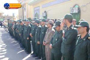 تشییع سرگرد شهید عبدالخالق فرزادیان در یاسوج (۸)