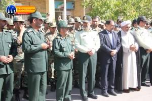 تشییع سرگرد شهید عبدالخالق فرزادیان در یاسوج (۹)