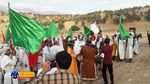 گزارش تصویری مراسم بازسازی عید غدیر خم در روستای تمنک از توابع بخش پاتاوه شهرستان دنا (۱۳۵)