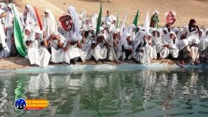 گزارش تصویری مراسم بازسازی عید غدیر خم در روستای تمنک از توابع بخش پاتاوه شهرستان دنا (۲۵)