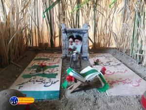 گزارش تصویری مراسم بازسازی عید غدیر خم در روستای تمنک از توابع بخش پاتاوه شهرستان دنا (۳)