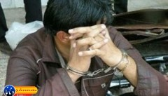 دستبند پلیس بر دستان سارق با ۲۲ فقره سرقت در گچساران