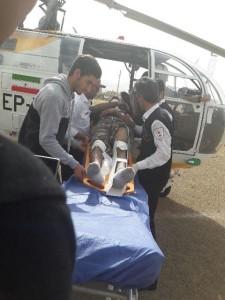 روز پر کار اورژانس ۱۱۵ استانامداد رسانی بالگرد هوایی گچساران و یاسوج+تصاویر (۳)