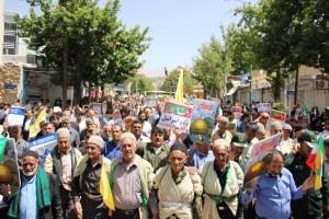 راهپیمایی روز قدس یاسوج (۱۵)
