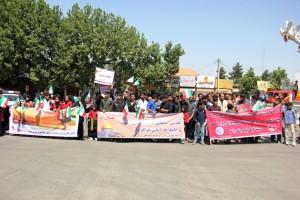 راهپیمایی روز قدس یاسوج (۴)