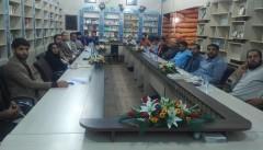 دومین نشست هییت اندیشه ورز فضای مجازی استان برگزار شد