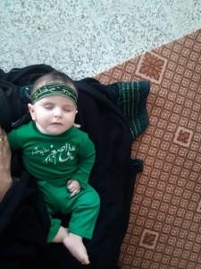 گزارش تصویری مراسم شیرخوارگان حسینی در پاتاوه (۱)