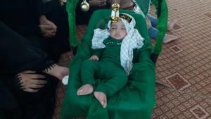 گزارش تصویری مراسم شیرخوارگان حسینی در پاتاوه (۱۲)