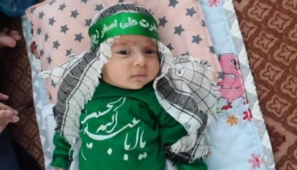 گزارش تصویری مراسم شیرخوارگان حسینی در پاتاوه (۱۸)