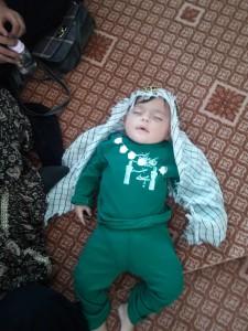 گزارش تصویری مراسم شیرخوارگان حسینی در پاتاوه (۲۰)