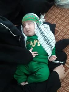 گزارش تصویری مراسم شیرخوارگان حسینی در پاتاوه (۲۳)