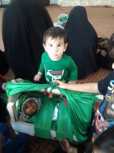 گزارش تصویری مراسم شیرخوارگان حسینی در پاتاوه (۴)