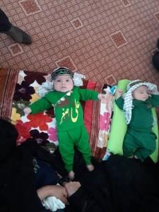 گزارش تصویری مراسم شیرخوارگان حسینی در پاتاوه (۶)