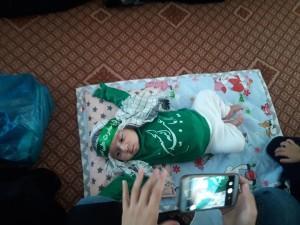 گزارش تصویری مراسم شیرخوارگان حسینی در پاتاوه (۷)