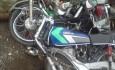 تصادف موتور سیکلت روستای باگ و بن زرد